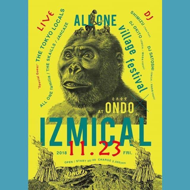 IZMICAL x ALL ONE village festival